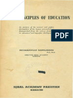 First Principles of Education by Mohammad Rafiuddin 2-Libre