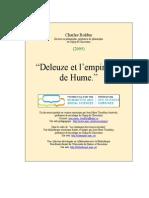 Deleuze Et l'Empirisme de Hume