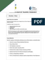 Bigdata & Hadoop Training Workshop_malaysia