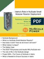 NuScale Presentation.1.21.14