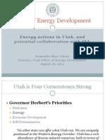 State of Utah Presentation