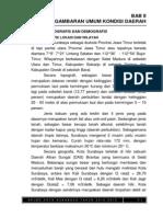 Bab II Gambaran Umum Kondisi Daerah Ukuran a5