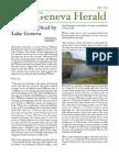 Boy Found Dead by Lake Geneva