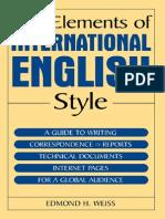 The Elements of International English Style