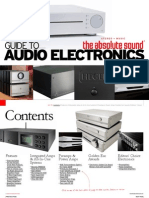Guide to Audio Electronics 2012