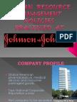 HRM Johnson Johnson