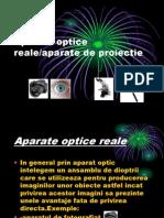 Aparate Optice Reale