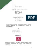 The Ladli Scheme in India Report