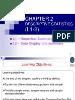 Descriptive Statistcs