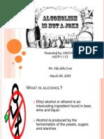 Alcoholism Presentation Nstp