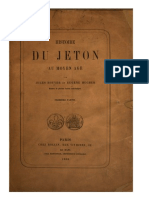 Histoire du jeton au Moyen Âge. Première pt. / par Jules Rouyer et Eugène Hucher.