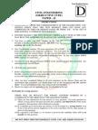 Civil IES2013objective Paper 2