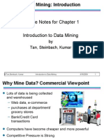 Introduction to data mining - Chap1 Intro