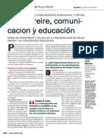Paulo Freire, comuni- cación y educación