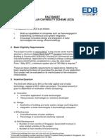 Solar Capability Scheme Factsheet