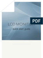Manual Monitors lcd
