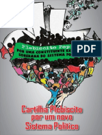 Cartilha Plebiscito Popular Por Um Novo Sistema Politico