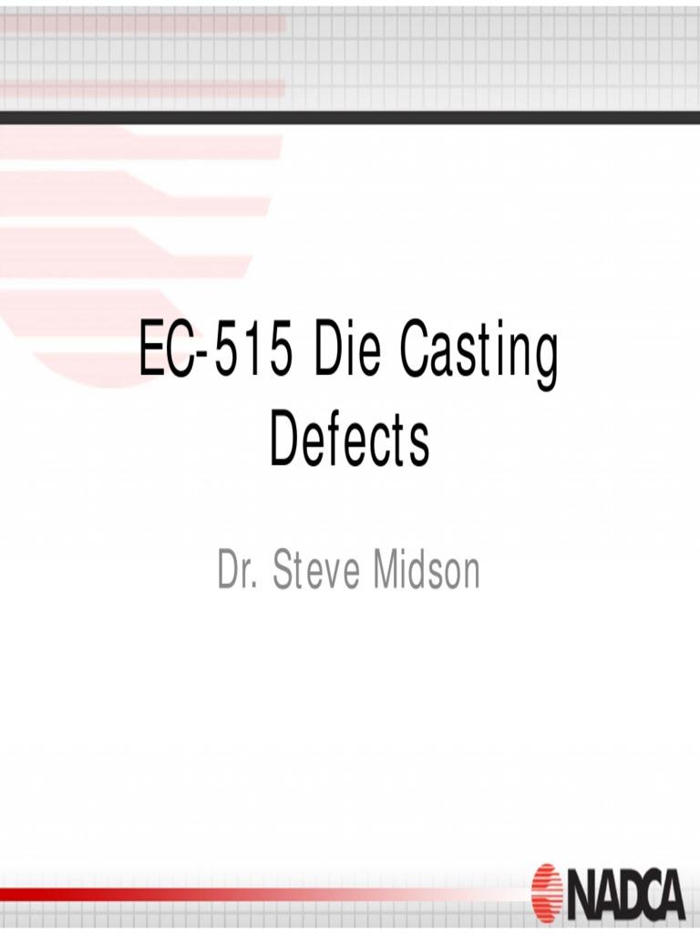 Casting defect
