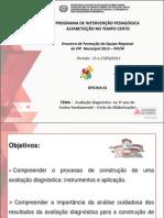 AVALIAÇÃO DIAGNOSTICA 3º ANO FUNDAMENTAL- 01