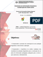 AVALIAÇÃO DIAGNÓSTICA 3º ANO FUNDAMENTAL - 02