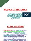 Module 03 Tektonika