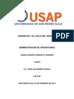 Garantias del Servicio y Ciclo del Servicio.docx
