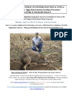 2014 Wisconsin DNR Spring Meeting (trapping)