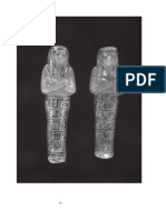 Two Shabtis of Pinudjem II High Priest of Amun in the Kelsey