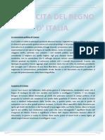 Nascita Del Regno d' Italia e Unificazione Tedesca