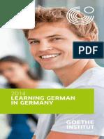 Learning German in Germany 2014