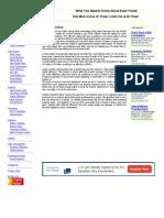 Inverter Efficiency - Factors Involved