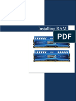 Installing RAM instructions