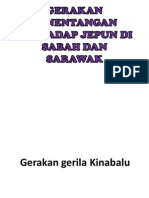Gerakan Penentangan Terhadap Jepun Di Sabah Dan Sarawak