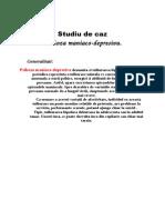 Studiu de Caz Psihologie an I