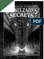 Shadowrun - Portfolio of a Dragon, Dunkelzahns Secrets