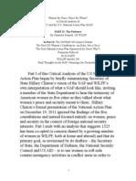 Part II of Critique of US NAP 1325