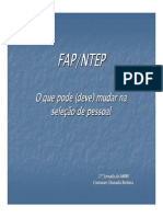 FAP NTEP