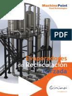 Evaporadores Recirculacion Forzada Machinepoint Food Technologies