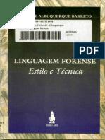 LIVRO - Linguagem Forense