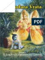 Damodara Vrata Booklet