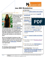 Asian MS Newsletter Issue 1, 2014