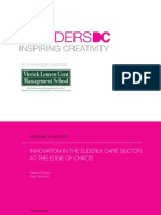 Innovation in the elderly care sector