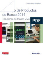 TEKTRONIX Catalogo 2014 Productos de Banco