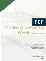 PERÍODO DE LA PRÁCTICA COMÚN