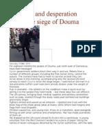 Defiance and Desperation Inside the Siege of Douma
