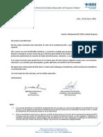 Carta Invitacion Mitad de Precio