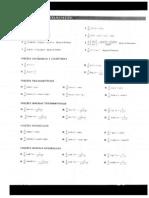 Tabela de Derivada e Integral