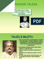 Twierdzenie Talesa IIA