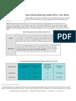 Codes Policy Factsheet