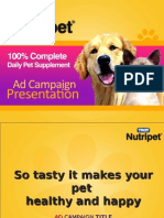 Nutripet Ad Campaign